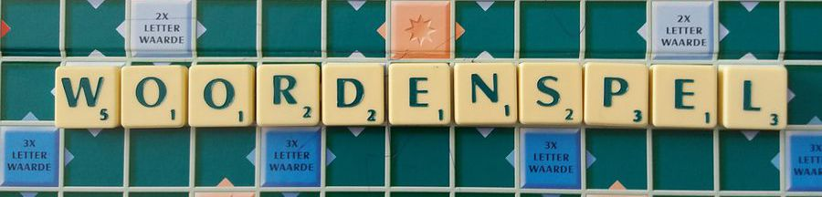 Schrijf in stijl - Scrabble header